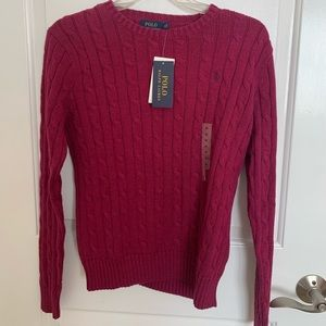 New with tags polo sweater